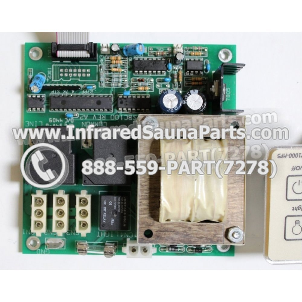 Complete Control Power Box With Control Panel    Complete Control Power Box    Board Eze Infrared
