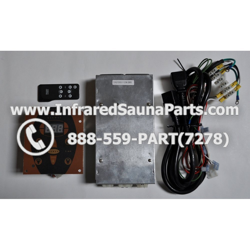 Complete Control Power Box With Panel Wiring 110v From 220v Cedrus Sn20051124185 Circuit Board Sn 20051124279 And Faceplate Remote