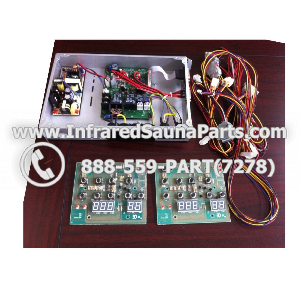 Complete Control Power Box With Control Panel    Complete