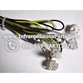 LIGHT WIRING - LIGHT WIRING - HARNESS WITH 3 INPUTS STYLE 4 4