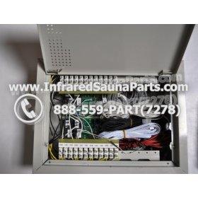 COMPLETE CONTROL POWER BOX 110V / 120V - COMPLETE CONTROL POWER BOX 110V  120V 9600 WATTS WITH COMPLETE WIRING HARNESS 1