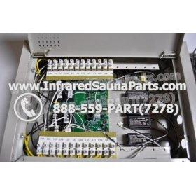 COMPLETE CONTROL POWER BOX 110V / 120V - COMPLETE CONTROL POWER BOX 110V  120V 9600 WATTS WITH COMPLETE WIRING HARNESS 6