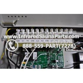 COMPLETE CONTROL POWER BOX 110V / 120V - COMPLETE CONTROL POWER BOX 110V  120V 9600 WATTS WITH COMPLETE WIRING HARNESS 7