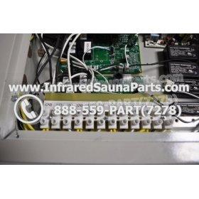 COMPLETE CONTROL POWER BOX 110V / 120V - COMPLETE CONTROL POWER BOX 110V  120V 9600 WATTS WITH COMPLETE WIRING HARNESS 8