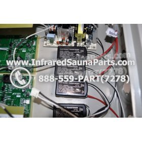 COMPLETE CONTROL POWER BOX 110V / 120V - COMPLETE CONTROL POWER BOX 110V  120V 9600 WATTS WITH COMPLETE WIRING HARNESS 9