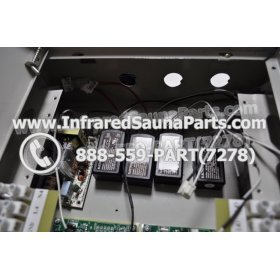 COMPLETE CONTROL POWER BOX 110V / 120V - COMPLETE CONTROL POWER BOX 110V  120V 9600 WATTS WITH COMPLETE WIRING HARNESS 11