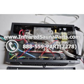 COMPLETE CONTROL POWER BOX 110V / 120V - COMPLETE CONTROL POWER BOX 110V  120V WITH 7 CIRCUIT BOARD PINS  6 FEMALE PLUGS SUPPLY WORLD INFRARED SAUNA 30