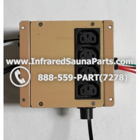 ADAPTERS / TRANSFORMERS - ADAPTERS  TRANSFORMERS FOR SUNLIGHT INFRARED SAUNA 110V / 120V STYLE 2 1