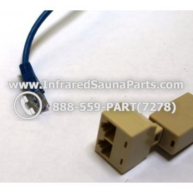 CIRCUIT BOARDS / TOUCH PADS CONNECTORS - CIRCUIT BOARD TOUCH PAD CONNECTOR WIRE LAN MALE TO FEMALE 4