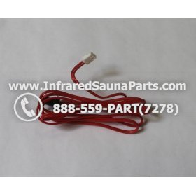 THERMOSTATS - THERMOSTAT 2 PIN FEMALE FOR CLEARLIGHT INFRARED SAUNA BOX MODEL HM-PCS1(REV.B) 2
