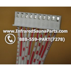CIRCUIT BOARDS / TOUCH PADS CONNECTORS - CIRCUIT BOARDS / TOUCH PADS CONNECTORS WIRE-10 PIN - FEMALE TO FEMALE - 10 inches 6