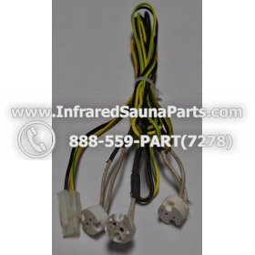 LIGHT WIRING - LIGHT WIRING - HARNESS WITH 3 INPUTS STYLE 4 9