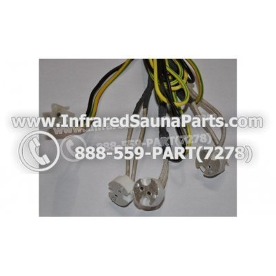 LIGHT WIRING - LIGHT WIRING - HARNESS WITH 3 INPUTS STYLE 4 1