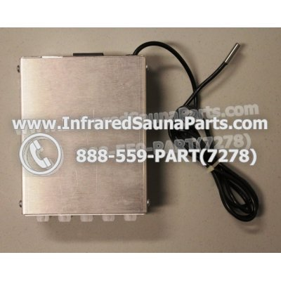 COMPLETE CONTROL POWER BOX 110V / 120V - COMPLETE CONTROL POWER BOX 110V / 120V EZE INFRARED SAUNA  ACC-100-PL-D 1