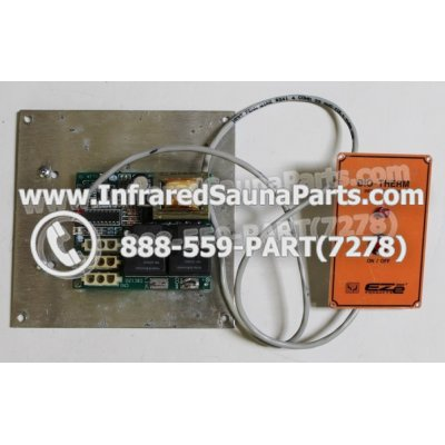 COMPLETE CONTROL POWER BOX WITH CONTROL PANEL - COMPLETE CONTROL POWER BOX / BOARD SBC 120 MINI  WITH ON  OFF CONTROL PANEL 1