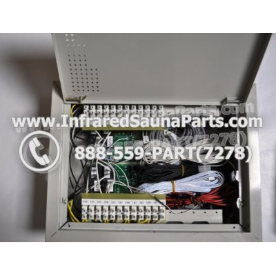COMPLETE CONTROL POWER BOX 110V / 120V - COMPLETE CONTROL POWER BOX 110V  120V 9600 WATTS WITH COMPLETE WIRING HARNESS 1
