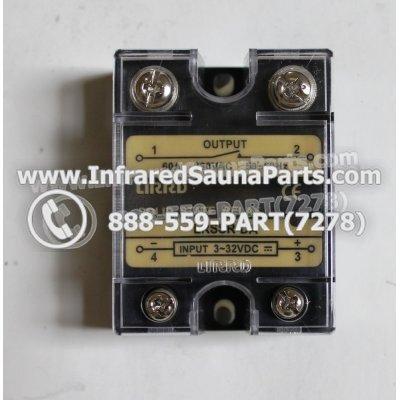RELAYS / SOLID RELAYS - RELAYS  SOLID RELAY LIRRD LRSSR-DA 380VAC 60AMP 1