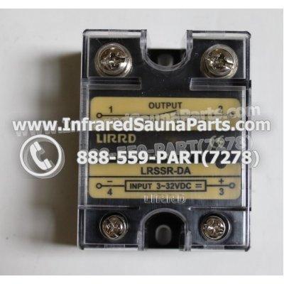 RELAYS / SOLID RELAYS - RELAYS  SOLID RELAY LIRRD LRSSR-DA 380VAC 50AMP 1