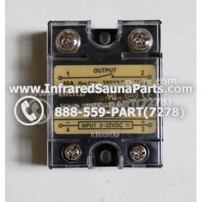RELAYS / SOLID RELAYS - RELAYS  SOLID RELAY LIRRD LRSSR-DA 380VAC 40AMP 1