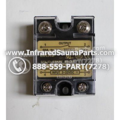 RELAYS / SOLID RELAYS - RELAYS  SOLID RELAY LIRRD LRSSR-DA 380VAC 30AMP 1