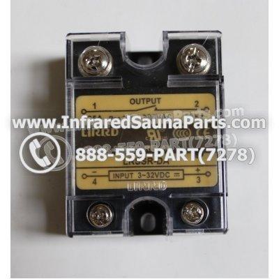 RELAYS / SOLID RELAYS - RELAYS  SOLID RELAY LIRRD LRSSR-DA 380VAC 25AMP 1