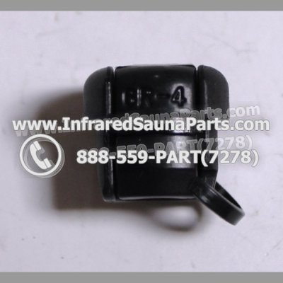 CORD END CONNECTORS - CORD END CONNECTOR PG GR4 BLACK 1