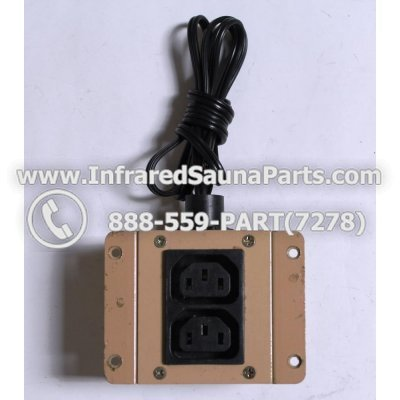 ADAPTERS / TRANSFORMERS - ADAPTERS  TRANSFORMERS FOR SUNLIGHT INFRARED SAUNA 110V / 120V STYLE 1 1