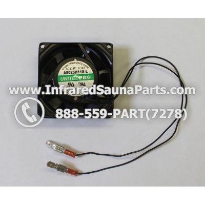FANS - FAN A8025H118-L AC 115V-0.13A 1