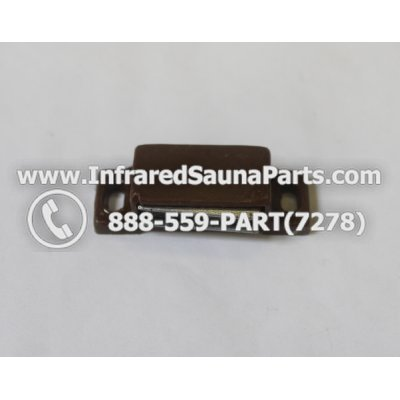 DOOR MAGNETS - DOOR MAGNET PLASTIC IN BRAUN 1
