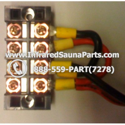 JUNCTION TERMINAL BLOCKS - JUNCTION TERMINAL BLOCK SWITCH / 8 PORT 1