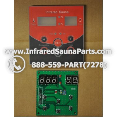 CIRCUIT BOARDS WITH  FACE PLATES - CIRCUIT BOARD WITH FACE PLATE 06S085 1