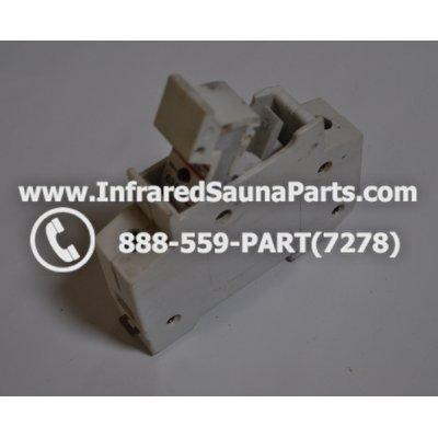 FUSE BLOCKS - FUSE BLOCK RT18-63 380v-500v 63AMP GB13539 1