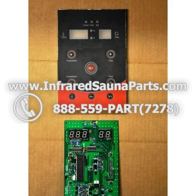 CIRCUIT BOARDS WITH  FACE PLATES - CIRCUIT BOARD WITH FACE PLATE 06S084 1