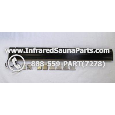 EMF INFRARED SAUNA CERAMIC HEATERS 220V / 240V - J RADIANT INFRARED SAUNA CERAMIC HEATER JH-NR24-15B 2400 WATTS 220V / 240V 1