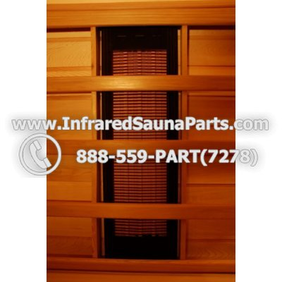 EMF INFRARED SAUNA CERAMIC HEATERS 220V / 240V - EMF SUNLIGHT INFRARED SAUNA CERAMIC HEATERS 300 WATTS 220V / 240V 1