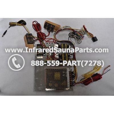COMPLETE CONTROL POWER BOX 220V / 240V - COMPLETE CONTROL POWER BOX   220V / 240V ZENAWAKENING INFRARED SAUNA STYLE 8 1