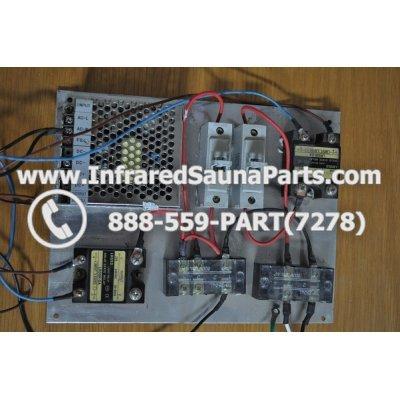 COMPLETE CONTROL POWER BOX 220V / 240V - COMPLETE CONTROL POWER BOX  220V / 240V HEALTHLAND INFRARED SAUNA STYLE 7 1