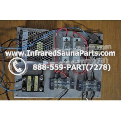 COMPLETE CONTROL POWER BOX 220V / 240V - COMPLETE CONTROL POWER BOX  220V / 240V HYDRA INFRARED SAUNA STYLE 7 1