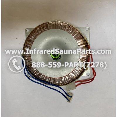ADAPTERS / TRANSFORMERS - ADAPTERS / TRANSFORMER SUNLIGHT SAUNA 220V 1