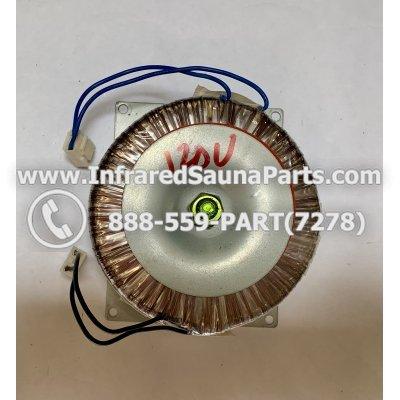 ADAPTERS / TRANSFORMERS - ADAPTERS / TRANSFORMER SUNLIGHT SAUNA 120V 1