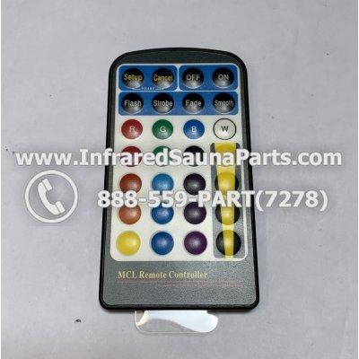 REMOTE CONTROLS - REMOTE CONTROL FOR CHROMOTHERAPY MR 16 5 W MLC116-12-F 1