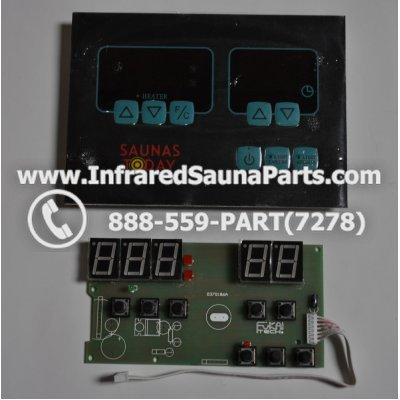 CIRCUIT BOARDS WITH  FACE PLATES - CIRCUIT BOARD WITH FACE PLATE 037S186A 1