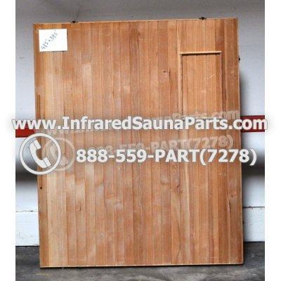 """WOOD SAUNA FLOORS - HEMLOCK WOOD SAUNA FLOOR ( 47.5"""" x 39.5"""" ) 1"""