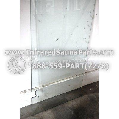 """WOOD DOORS + GLASS DOORS - GLASS DOOR ( 23.2"""" x 65"""" ) 1"""
