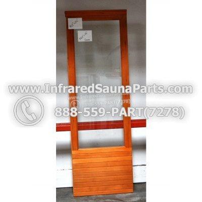 """WOOD DOORS + GLASS DOORS - HEMLOCK WOOD DOOR ( 71.2"""" x 24"""" ) 1"""