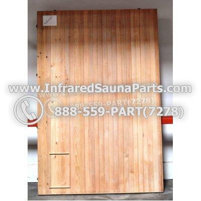 """WOOD SAUNA FLOORS - HEMLOCK WOOD SAUNA FLOOR ( 71.2"""" x 47.5"""" ) 1"""