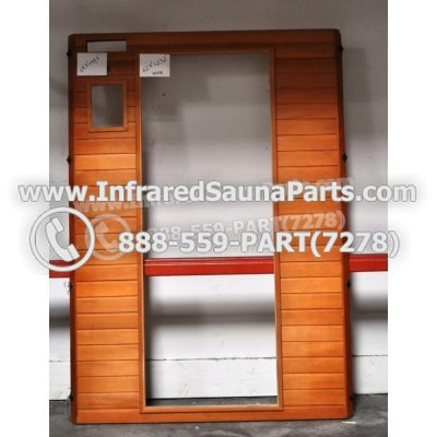 "WOOD SAUNA WALLS - HEMLOCK WOOD SAUNA PANEL ( 69.5"" x 49.5"" ) 1"