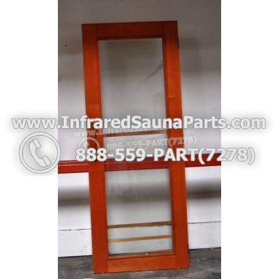 """WOOD DOORS + GLASS DOORS - HEMLOCK WOOD DOOR ( 63"""" x 24.5"""" ) 1"""