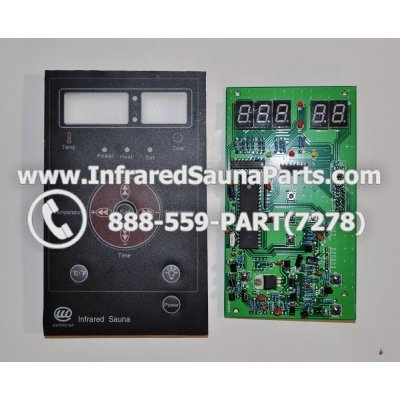 CIRCUIT BOARDS WITH  FACE PLATES - CIRCUIT BOARD WITH FACE PLATE 06S065 1