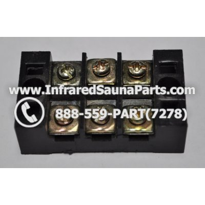 JUNCTION TERMINAL BLOCKS - JUNCTION TERMINAL BLOCK SWITCH / 6 PORT 1
